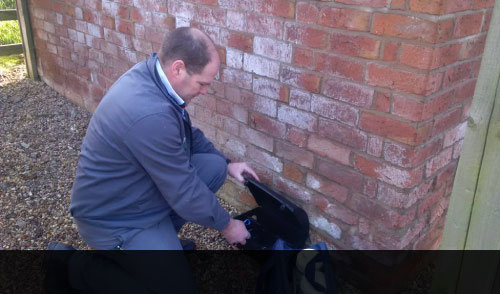 Avon pest Control Technician at Work